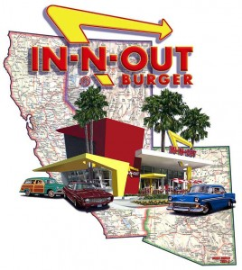 In n Out Burger is simple and tasty