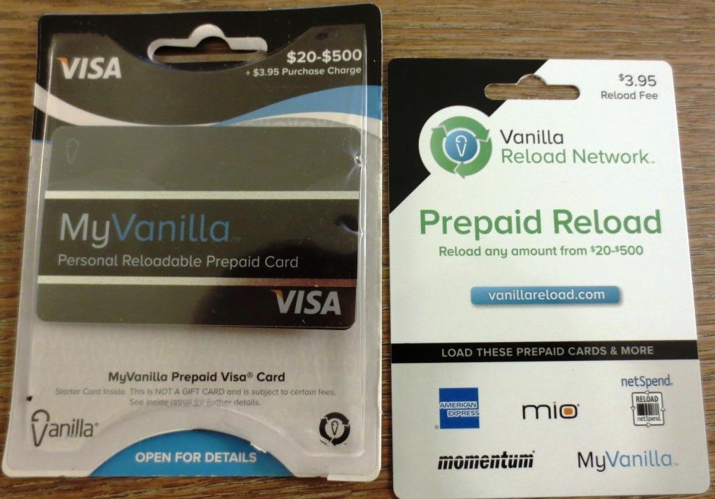 myvanilla reloadable prepaid card - Reloadable Prepaid Cards