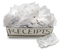 Keeping expenses seperate will save you time and money