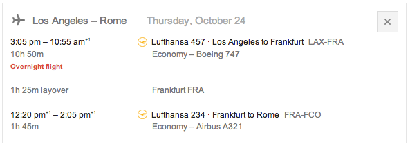 If the flight number does not show you can select a return flight and the info will appear