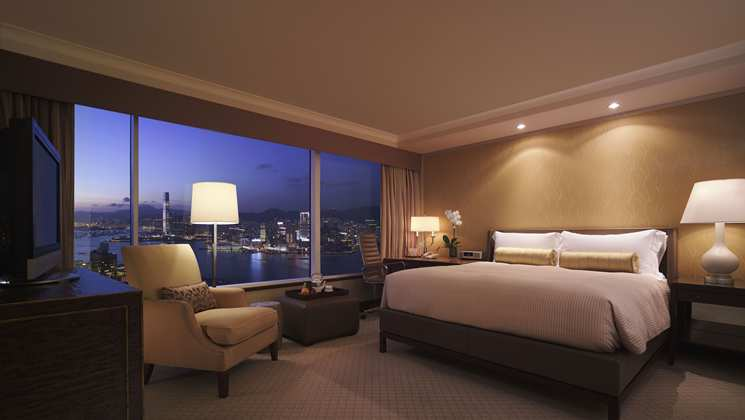 King Executive Harbour View Room