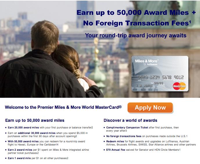 Get 50,000 Lufthansa Miles