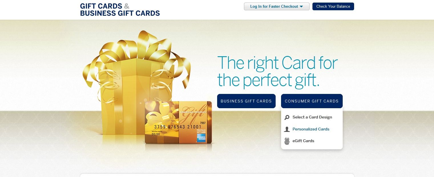 Manufacture Spend Guide to American Express Gift Cards