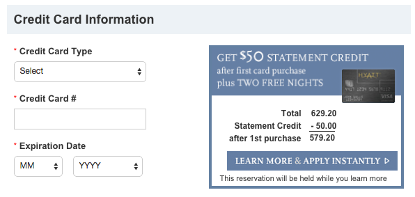 Get Two Free Nights 50 Statement Credit With The Hyatt Credit Card_04