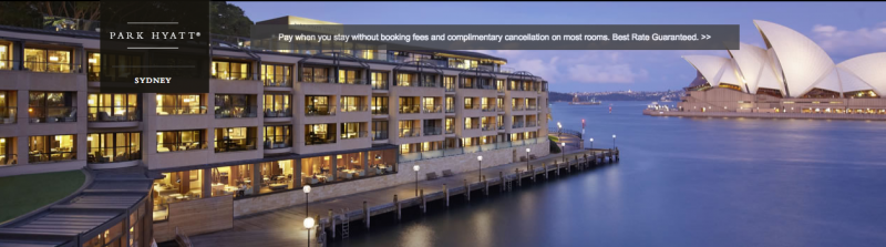 Stay at the Park Hyatt Sydney with the two free nights