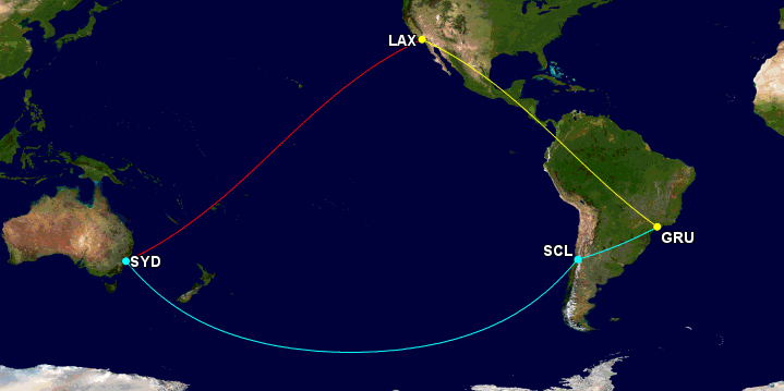 Maximizing US Airways Miles on Central & South America Awards _06