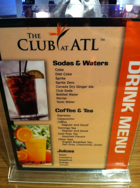 Airport Lounge Review The Club At ATL_19