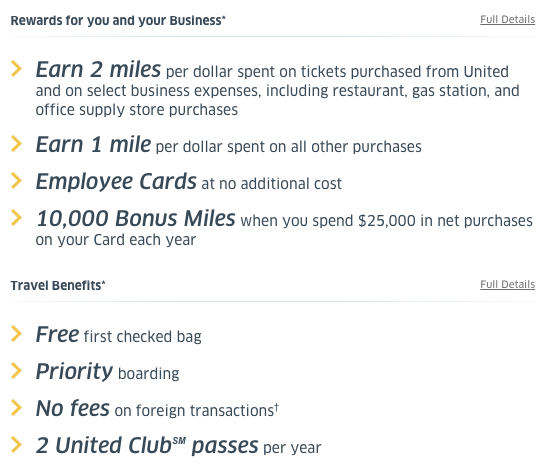 Increased 50,000 Mile Welcome Offer on Chase United MileagePlus Explorer Business Card_02