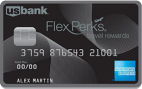 US Bank FlexPerks Travel Rewards American Express Card