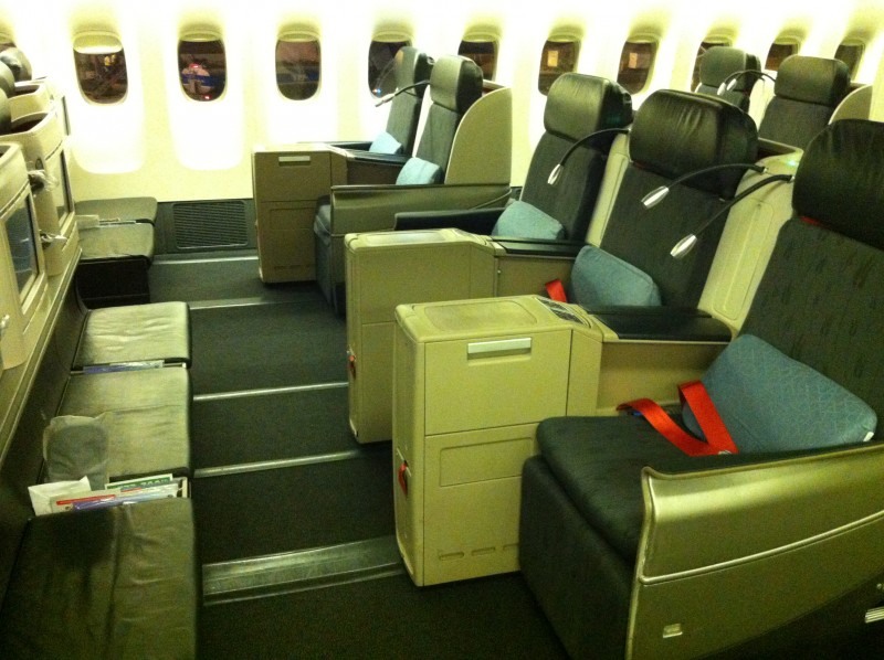 Turkish Airlines Business Class from Buenos Aires to Sao Paulo