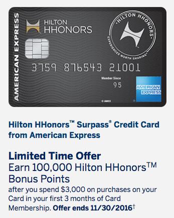 100000-signup-bonus-offer-american-express-hilton-surpass