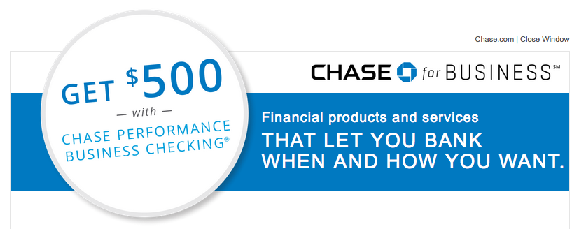 The Chase Total Business Checking ® is one of their most popular Business Checking accounts, but this $ bonus offer is also available for the Chase Performance Business Checking ®, (or Chase Performance Business Checking ® with Interest), or Chase Platinum Business Checking SM account. As with other Business account offers, direct deposit.
