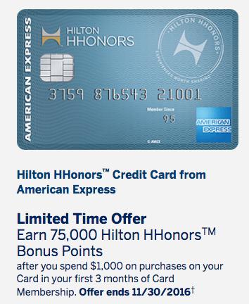 amex-hilton-hhonors-credit-card-75000-point-sign-up-bonus-no-annual-fee