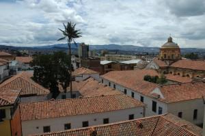 View of La Candelaria from Hotel de la Opera in Bogota ©Rand Shoaf