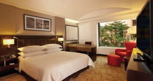 The chic and stylish Hilton Bogota Deluxe King Room