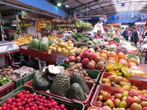 Explore Bogota's markets and try some of the amazing fruits of Colombia as well as other great foods ©Rand Shoaf
