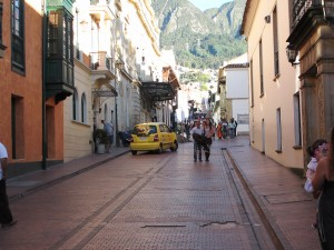 Wander the colonial streets of La Candelaria, lined with small shops and restaurants ©Rand Shoaf