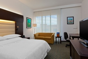 Modern design in the Executive King room