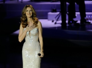 Celine Dion performs at the Caesers Palace every week