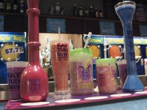 Fat Tuesday Daiquiri bar can be found in most resorts in Las Vegas
