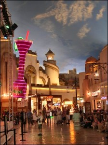 Miracle Mile at Planet Hollywood has shops and restaurants for every taste