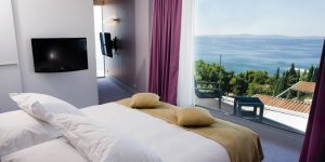 The Radisson Blu Split standard room with sea views