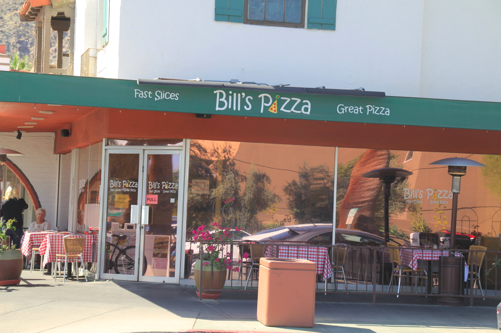 Bill's Pizza in Palm Springs