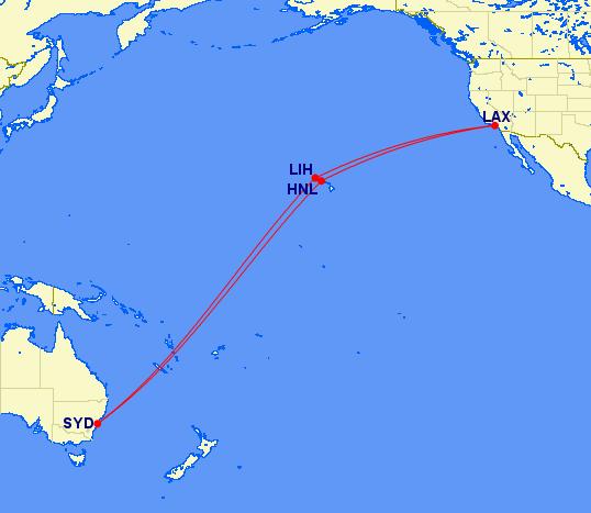 Hawaii/AUS stopover