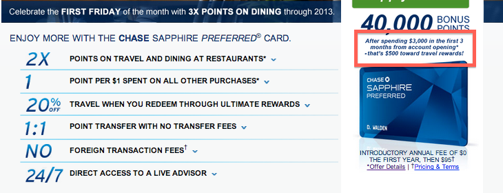 Most card offers terms say you must hit the min spend within 3 months