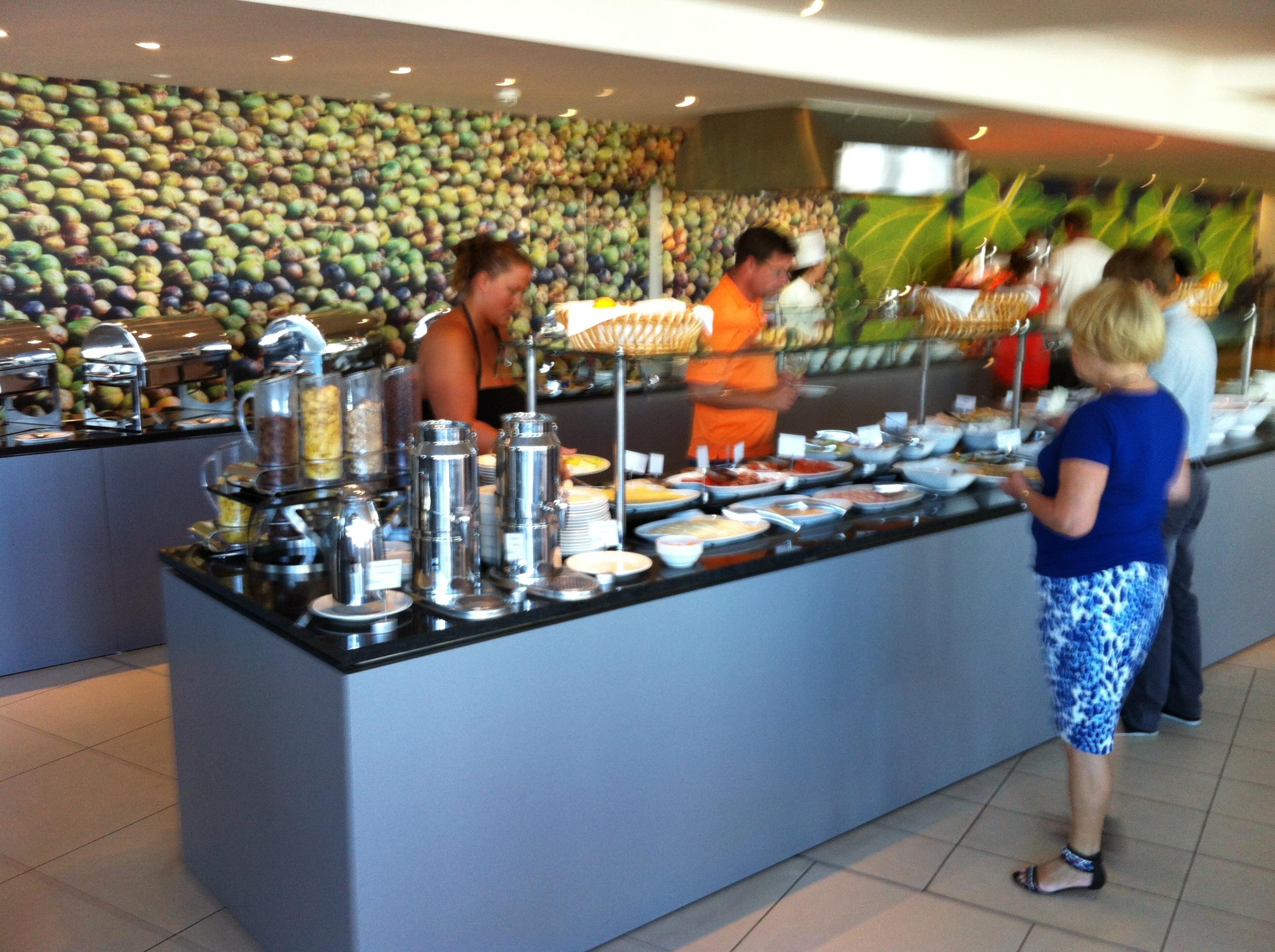 Fig Leaf Restaurant, a buffet, in the Radisson Blu