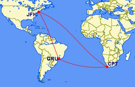 JFK-GRU-CPT-JFK