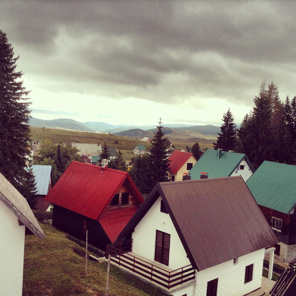 View from our room in Zablajak