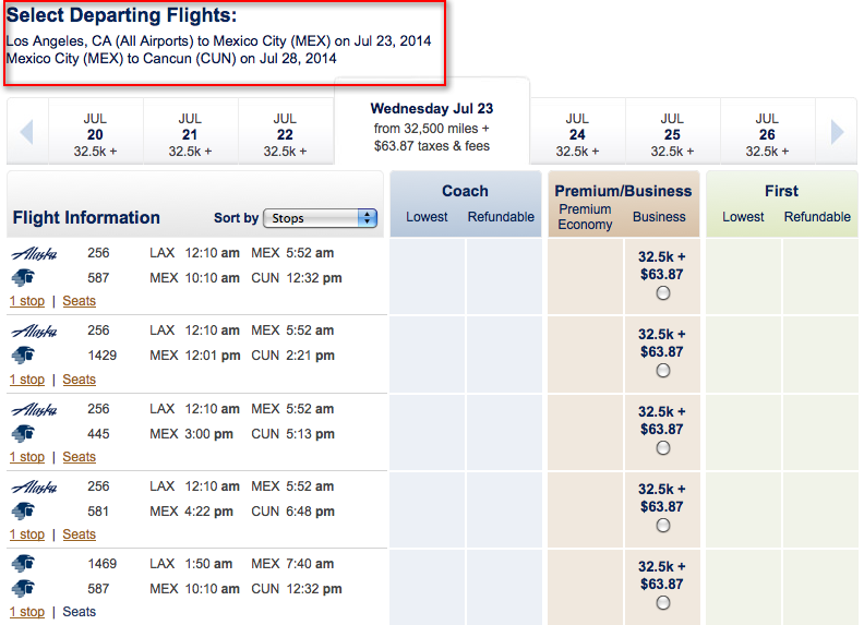 Alaska Airlines Stopover