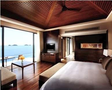 Ocean View Room at the Koh Samui