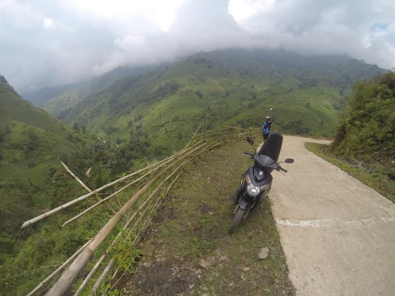 Exploring the backroads around Sapa