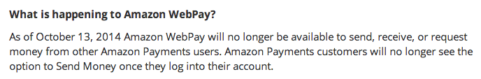 Amazon Payments Eliminates $1,000 Free Credit Card Payments