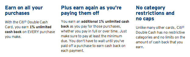 Citi Double Cash Offers 2 Cash Back on Everything
