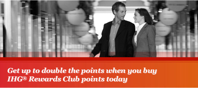 100% Bonus When You Buy IHG Rewards Club Points