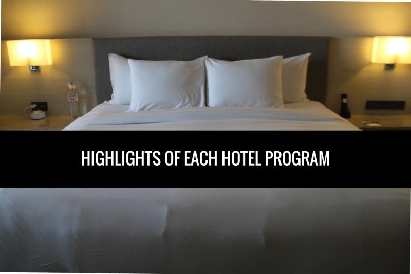 Highlights Of Each Hotel Loyalty Program