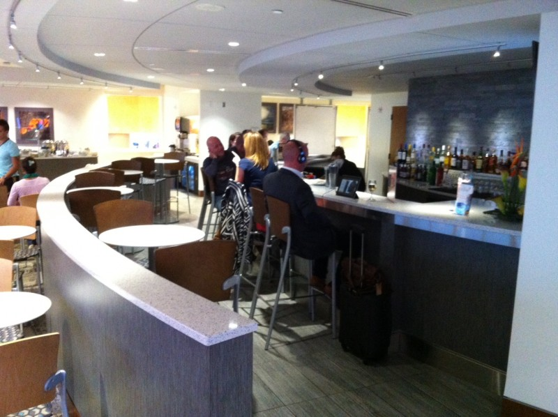 Airport Lounge Review The Club At ATL_07