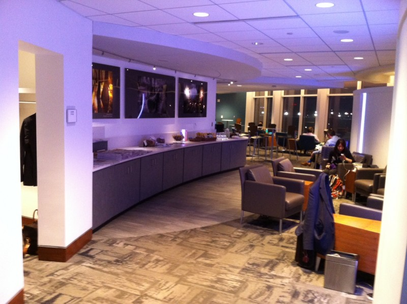 Airport Lounge Review The Club At ATL_06
