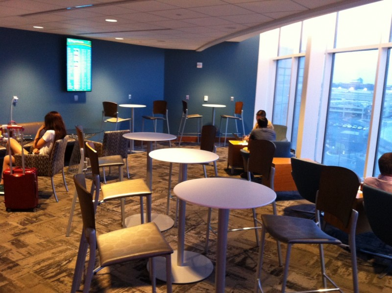 Airport Lounge Review The Club At ATL_05
