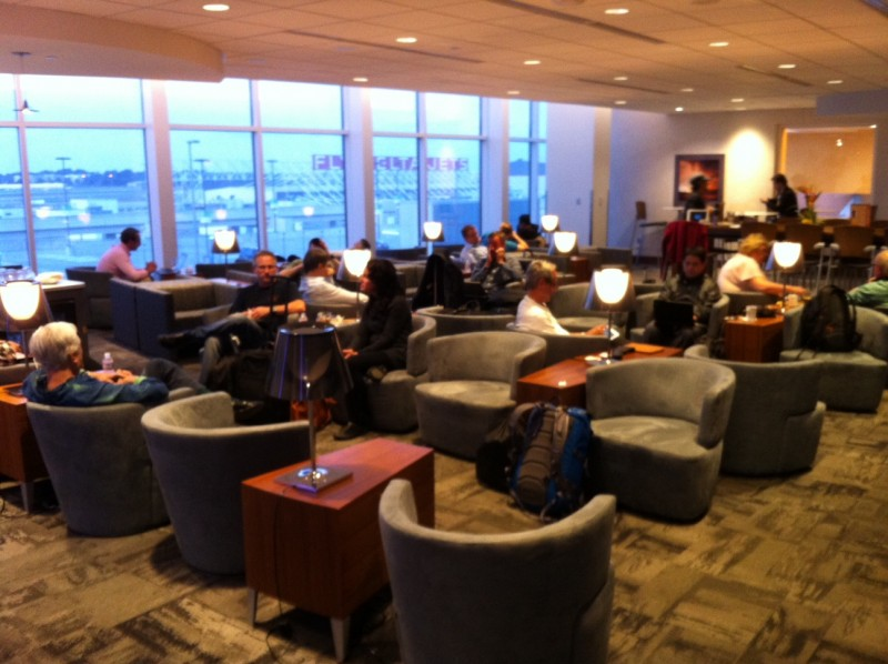 Airport Lounge Review The Club At ATL_03