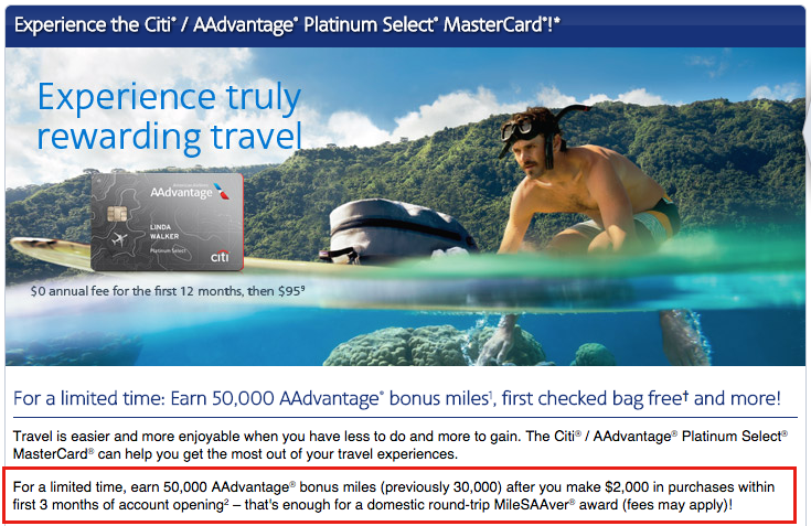You can find the same offer with a lower minimum spending requirement on AA.com!