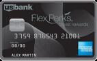 US Bank FlexPerks Travel Rewards American Express Card