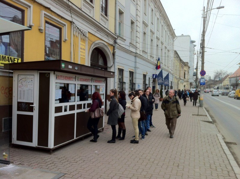 Bilete kiosk in Cluj-Napoca