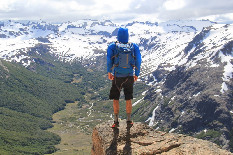 Hiking around Bariloche, Argentina