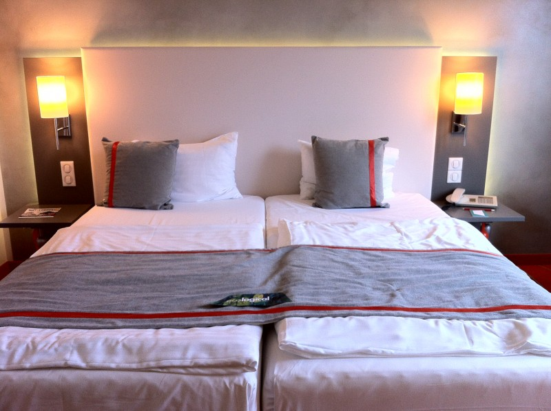 Bedroom Artotel Budapest