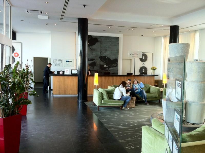 Lobby Art'otel Budapest