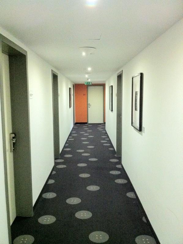 First floor hallway artotel budapest
